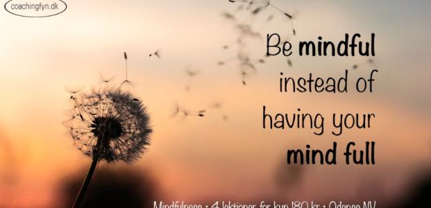 Mental træning/mindfulness